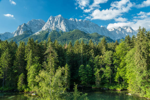 7 = 6 or 14 = 12: Holiday at the Zugspitze